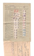 Revenue USSR Profsoyuz Member 1950s - Revenue Stamps