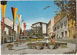 Obervellach: FORD CAPRI & 17M, RENAULT 16, MERCEDES W114, OPEL REKORD-B - Hauptplatz, Hotel, Kino, Gasthof - Kärnten - PKW
