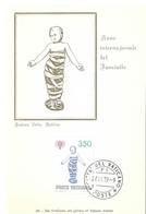 Année Internationale De L'Enfant, 27.11. 1979, L.350 (2scans) - Cartes-Maximum (CM)