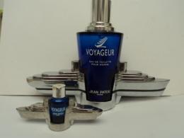 """PATOU """" VOYAGEUR""""  GRAND MODELE  IMPECCABLE CONTENAIT 100 ML  LIRE ET VOIR!! - Modern Miniatures (from 1961)"""
