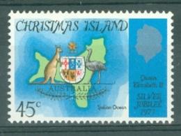 Christmas Is: 1977   Silver Jubilee   MNH - Christmas Island
