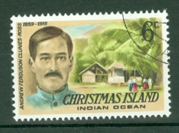 Christmas Is: 1977/78   Famous Visitors   SG72   6c   Used - Christmas Island