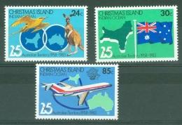 Christmas Is: 1983   25th Anniv Of Christmas Is As An Australian Territory   MNH - Christmas Island