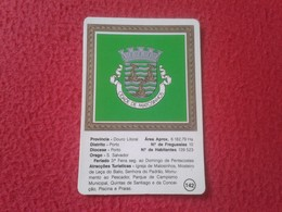 ANTIGUO CALENDARIO DE BOLSILLO DE MANO PORTUGAL PORTUGUESE CALENDAR 1989 1990 CIDADE MATOSINHOS CROMOGAL TERCENA QUELUZ - Calendarios