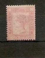 MAURITIUS1880 17c SG 96 WATERMARK CROWN CC MINT Cat £95 - Mauritius (...-1967)
