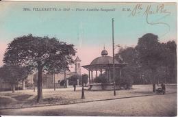 CPA - 3105. VILLENEUVE LE ROI Place Amédée-soupault - Villeneuve Le Roi
