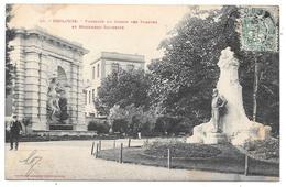 31 - TOULOUSE - Fontaine Du Jardin Des Plantes Et Monument Silvestre - Ed. Labouche N° 92 - 1906 - Toulouse