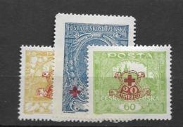 1920 MH Tschechoslowakei - Unused Stamps