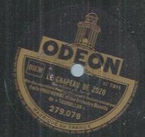 """78 Tours - EMILE PRUD'HOMME - ODEON 279079 """" LE CHAPEAU DE ZOZO """" + """" MANDARINES """" - 78 Rpm - Gramophone Records"""
