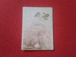 ANTIGUO CALENDARIO DE BOLSILLO DE MANO PORTUGAL PORTUGUESE CALENDAR 1986 PORTO OPORTO CAES PERRO DOG A. TAVARES VE FOTOS - Calendarios