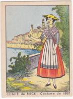 Chromo - Comté De Nice - Costume De 1880 - Chromos