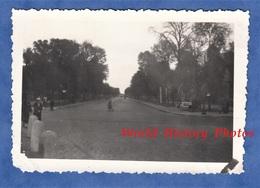 Photo Ancienne D'un Soldat Allemand - VERSAILLES - Avenue à Situer - Vers 1940 / 1941 - Lieux