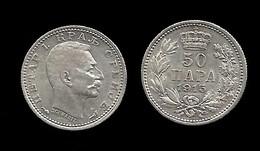 SERBIE . PIERRE I . 50 PARA  1915 . - Serbie