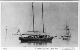 """V13443 Photo Bateau De Guerre -  AORAI Goeltte 1878-1892 """" Photo Marius Bar Toulon """" - Guerre"""
