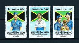 Jamaica  Nº Yvert  751/3  En Nuevo - Jamaica (1962-...)
