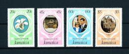 Jamaica  Nº Yvert  516/19  En Nuevo - Jamaica (1962-...)