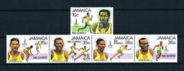 Jamaica  Nº Yvert  495/9  En Nuevo - Jamaica (1962-...)