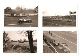 12 Photos, Course De Monoplaces Sur Le Circuit Bugatti Du Mans 1966 Et 1968 - Automobiles