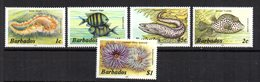 Serie Nº 628/32  Barbados - Peces