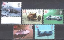 Great Britain 1998 - Mi.1767-71 - Used - Gebraucht