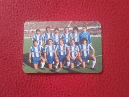 ANTIGUO CALENDARIO DE BOLSILLO DE MANO PORTUGAL PORTUGUESE CALENDAR 1987 PORTO OPORTO FUTEBOL FÚTBOL EQUIPO MOTA COELHO - Calendarios