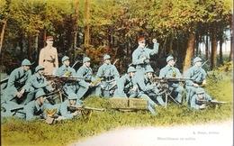 La Guerre Europeenne 1914 , Mitrailleuses En Action - Guerre 1914-18
