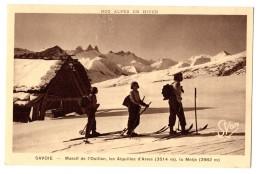 Saint-Sorlin-d'Arves (Savoie)  Massi De L'Ouillon, Skieurs - France