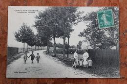 CONFLANS-SUR-SEINE (51) - AVENUE DE LA GARE - France