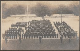British Military On The Parade Ground, C.1910 - RP Postcard - Regiments