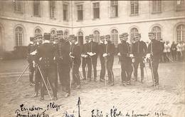 Cpa De Saumur, Officiers Cavaliers De La Promotion De Fez De St-Cyr, Carte-photo Nicod De 1912 - Régiments
