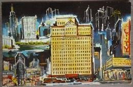 USA.NEW-YORK.CENTURY HOTEL.ECRITE AU DOS ANNEES 60.TBE. - Cafés, Hôtels & Restaurants