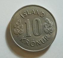 Iceland 10 Kronur 1969 - Iceland