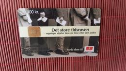Phonecard Danmark Only 5994 Made 2 Scans Rare - Denmark