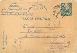 D1281 Romania Stationery Card 1949 - Roemenië