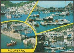 Multiview, Polperro, Cornwall, C.1980s - Salmon Postcard - Other