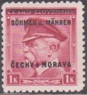26/ Bohemia & Moravia; ** Nr. 10 - Neufs