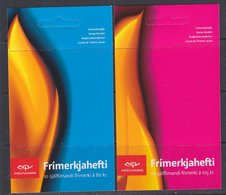 Europa Cept 2007 Iceland 2 Booklets ** Mnh (38752A) Promotion - 2007