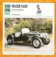 1949 FRAZER NASH LE MANS REPLICA - OLD CAR - VECCHIA AUTOMOBILE -  VIEJO COCHE - ALTES AUTO - CARRO VELHO - Autos