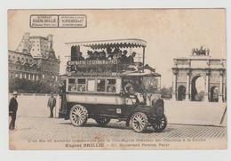 Carte Postale Autobus Paris - Trasporto Pubblico Stradale