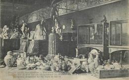 CP GUERRE DOUAI APRES L'OCCUPATION FAIENCES POTERIES QUE LES ALLEMANDS ONT DU ABANDONNER - Guerre 1914-18
