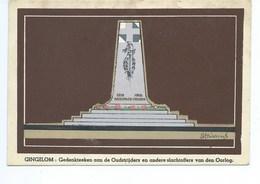 Gingelom Gedenkteeken 1914 1918 - Gingelom
