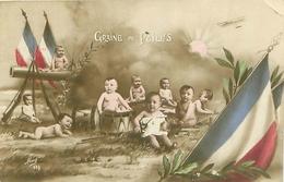 Carte Patriotique - Graine De Poilus , Bébés    S1138 - Babies
