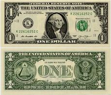 U.S.A.       1 Dollar       P-537       2013       UNC  [letter K: Dallas] - Bilglietti Della Riserva Federale (1928-...)