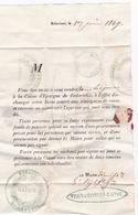 354 / MARCOPHILIE / BEDARIEUX 1 JUIN 1849 / LETTRE DU MAIRE A SES ADMINISTRES / A LIRE !! - Historical Documents
