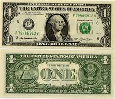 U.S.A.       1 Dollar       P-537       2013       UNC  [letter F: Atlanta] - Bilglietti Della Riserva Federale (1928-...)