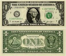 U.S.A.       1 Dollar       P-537       2013       UNC  [letter G: Chicago] - Bilglietti Della Riserva Federale (1928-...)