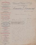 26 1575 PONT SAINT UZE Pres SAINT VALLIER DROME 1896 USINES LEMAIRE - DUMONT Fonderie à CONDAMINES - France