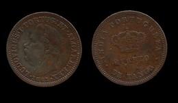 INDE- PORTUGAISE . LUIS I . 1/4 DE TANGA 1881 . - Indien