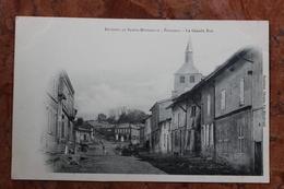 PASSAVANT (51) - ENVIRONS DE SAINTE-MENEHOULD - LA GRANDE RUE - France
