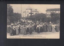 Schweiz AK Martigny Parc De L'Hotel Du Mont-Blanc 1904 - VS Wallis